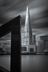 The Shard (Alan E Taylor) Tags: architecture atmospheric bw bw10stopfilter blackwhite blackandwhite building dramatic england europe lightroom london longexposure macphun macphunintensifyck macphuntonalityck mono monochrome noiretblanc office river shard skyscraper thames tourism tourist tower travel unitedkingdom city cityscape