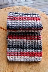 2017.11.08. salla kaulaliina 3316m (villanne123) Tags: 2017 kaulaliina scarf knitting neulottu teeteesalla villanne