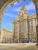 Royal Liver Building on 8th November 2017 (Bob Edwards Photography - Picture Liverpool) Tags: royalliver liverpool building architecture rivermersey pierhead arch princesdockgates