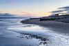 Bracing at Findhorn (Stoates-Findhorn) Tags: findhorn 2017 sunrise winter firth beach moray scotland huts coast shore sea unitedkingdom gb