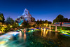 Monorails and Submarines and Matterhorns and Stars Oh My (TheTimeTheSpace) Tags: disneyland disneylandresort findingnemosubmarinevoyage monorail submarine lagoon night stars nikond810 nikon142428 matterhorn