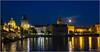 Staré Mesto - Prague (Stefano Flammia) Tags: praga prague praha città acqua cielo notte fiume moldava barca