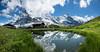 Kleine Scheidegg pass, Bern canton, Switzerland, the Alps, Europe. (Alpenwild Trips) Tags: europe panorama switzerland ice landscape mountain reflect reflection water snow lauterbrunnen bern
