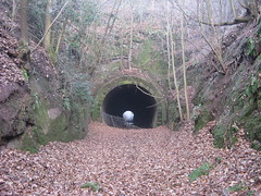 Where trains once ran (simonjohn4) Tags: mountpleasanttunnel severnvalley railway tunnel bewdley stourport worcestershire