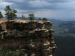 Precipitous (zoniedude1) Tags: arizona cliff outcrop mogollonrim vista therim pronouncedmuggyown precipice cliffedge sky stormclouds rain forest sedimentaryrock coconinosandstone view 1000ftvertical edgy 7800ftelevation rim edge escarpment sitgreavesnf asnf apachesitgreavesnationalforest rimshot outdoors adventure exploration discovery outinthewild beauty coloradoplateau highcountry rimexpedition2015 nature southwest canonpowershotg12 pspx9 zoniedude1 explore
