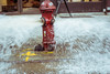 Release (Photography By Shaun) Tags: fir nyc firehydrant streetphotography streetphot spray open red color motion beautiful nikon photographybyshaun