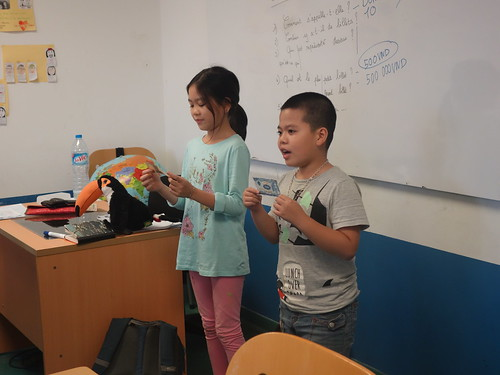La présentation des billets à la classe
