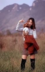 Ling (Jerry501) Tags: film fujichrome fujiastia100 rap portrait expired nikon f5 105mm nikkorauto105mmf25pc fujichromeastia100f