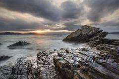 Elgol Rocks! (SkyeWeasel) Tags: scotland skye elgol sunset landscape seascape sea ocean coast ngc npc