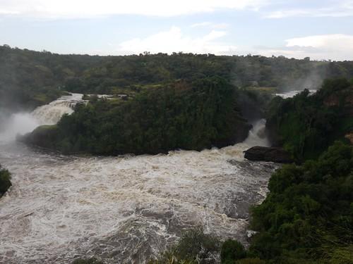 Uhuru (Freiheit)-Wasserfall und Murchison-Wasserfall