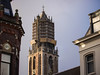 Dom © Inge Hoogendoorn (ingehoogendoorn) Tags: renovatie renovation dom domtoren tower grey greyday sunbeam light rain sunshine church utrecht