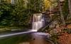 Hungarian Falls Autumn Waterfall (Cole Chase Photography) Tags: keweenawpeninsula upperpeninsula michigan calumet fall autumn