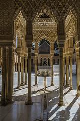 Patio de Los Leones (Javier Arcilla) Tags: antiguo patio leones alhambra granada andalucia españa europa arquitectura monumento restauracion pentax pentaxk50 k50 pentax1855mm 1855mm