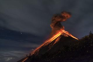 Fuego eruption ©DiegoRizzoPhoto