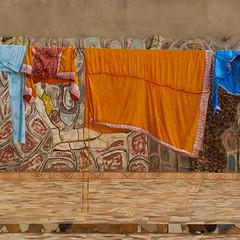 Etnicitet (FanFan Babii or just plain Buffan) Tags: africa afrika etnicitet colors clothes drying colorful