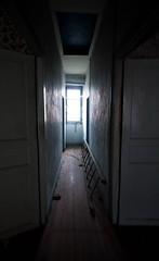 Come. (AloysiaVanTodd) Tags: urban explore explorer urbex natural light home house abandoned creepy dark darkness dismal window corridor decay shadows sombre soul sensitivity shades doors