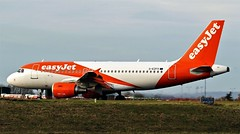 G-EZFV EASYJET AIRBUS A319 NEWCASTLE (toowoomba surfer) Tags: airline airliner jet aeroplane aircraft aviation ncl egnt