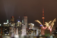 Fireworks of Cavalcade of Lights (Katrin Ray) Tags: fireworksofcavalcadeoflights cavalcadeoflights cntower fireworksinminiaturetoyronto night buildings golden lights torontodowntown fireworks colours longexposure tilfshift miniaturestyle digimagic photoshoptiltshift toyrontolife toyland urban toronto ontario canada katrinray dreamscapesoftoronto tiltshift12 happyminiaturesunday hms tiltshift canon canonphotography eos 750d t6i rebel