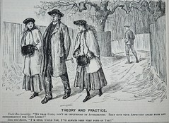Theory and Practice! -   Punch 1885 (AndyBrii) Tags: punch 1885 wit satire irony cartoons