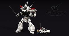 Patlabor (Garry_rocks) Tags: lego mecha patlabor patrol labor mobile police anime