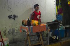 Food vendor in Atlixco, Puebla, Mexico