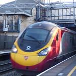 Smethwick Galton Bridge Station - Virgin Trains Class 390 Pendolino thumbnail
