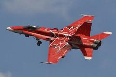 188734 (LAXSPOTTER97) Tags: 188734 mcdonnell douglas cf18a hornet royal canadian air force cn 249 ln ca34 airport aviation airplane cyxx 2017 abbotsford international airshow