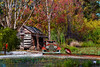 "Cabin In The Woods (crimsontideguy-from ""Sweet Home Alabama"" USA) Tags: sand swamps florida ford cars logcabins buildings boats forrest rural retro vintage vintagecars water trees photoshop nikon home yesteryear 1938 history houses scenic"