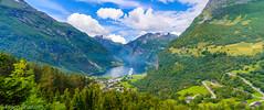 Geiranger (-ebphoto-) Tags: nikon d3200 sigma 1020 mm wide angle summer 2017 geiranger cruise norway norge vivid sea water mountains fjord geirangerfjorden