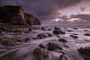 Troubled (johnkaysleftleg) Tags: blastbeach nosespoint seaham dawdon dawdondoor seascape predawn sunrise morning tidalflow rocks cliffs canon760d sigma1020mmf456exdchsm ndhardgrad06