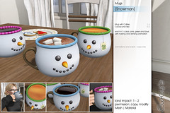 Sway's [Snowman] Mugs   FLF (Sway Dench / Sway's) Tags: flf sways christmas mug cocoa coffee tea cookies advent santa