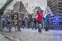 skate the plaza (mgstanton) Tags: boston christmas night winter skate bostonwinter ice iceskating cityhall bostoncityhallplaza