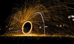 171202 3303 (steeljam) Tags: steeljam nikon d800 lightpainters wire woll spinning o2 isle dogs beach long exposure