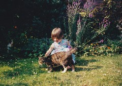 Abigail 1990's (Bury Gardener) Tags: family friends relatives oldies snaps scans people folks