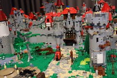Agd_Burgiii (Zeï'Cygaïn) Tags: lego classic castle puzzling scapes pcs fantasieundtechnik abtsgmünd 2017 hedgeknight