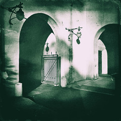 ( Afternoon time passages ) (Wandering Dom) Tags: vintage old california architecture gate time passage life reality dreams being nothingness
