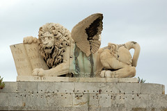 Leone di San Marco Livorno Italy (livornoalone) Tags: livornoalone leonedisanmarco livorno piazzasanmarco quartierepontinolivorno
