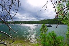 Sunshine over Jackson Lake, Grand Teton NP, USA (Andrey Sulitskiy) Tags: usa grandteton wyoming