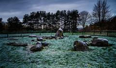Balgarthno Stone Circle (daedmike) Tags: scotland dundee stonecircle pictish picts celtic ancient historical balgarthno tayside frost freezing cold morning myrekirk monument apocalyptica