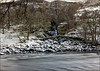 Ancient Roman Bridge _G5A5357 (ronniefleming@btinternet.com) Tags: scotland visitscotland walkhighlands perthshire glenlyon romanbridge alltdaghob riverlyon bridge snow fastriver fortingall chesthillhouse scotlandslongestglen
