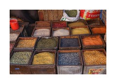 Spices (posterboy2007) Tags: nepal spices color vendor sony bhaktapur
