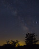 Milkyway and Meteor (Chris Mahoney - AACStudio) Tags: bannermarsh astrophotography milkyway meteor sunset stars astro trees landscape