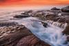 Soldiers Beach Sunrise || CENTRAL COAST || NSW (rhyspope) Tags: australia aussie nsw new south wales central coast soldiers beach norah head sunrise sea ocean coastal rhys pope rhyspope canon 5d mkii water marine sky color colour clouds fog mist