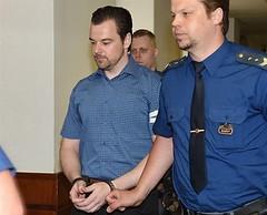 Petr Kramný 4 (Kluci v nesnázích) Tags: court jail prison handcuffs