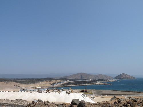 salt port near Lake Assal, Djibouti