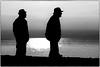Silhouetten (7) sw (fotokunst_kunstfoto) Tags: silhouette silhouett silhouetten schattenbilder umriss kontur konturen schattenriss