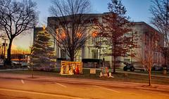 Christmas at the Courthouse (kendoman26) Tags: hdr nikhdrefexpro2 niksoftware grundycountyillinois morrisillinois christmastime sonyalpha sonya58 sonyslta58 sonyphotographing christmaslights