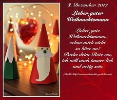 8. Dezember 2017 (Mr.Vamp) Tags: advent adventskalender adventszeit mrvamp vamp weihnachtsmann
