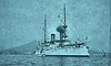Front starboard view of the U.S.S. Olympia. 1899 (SSAVE w/ over 9 MILLION views THX) Tags: spanishamericanwar 1899 cruiser ussolympia georgedewey italy