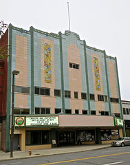 Ritz Theatre, Scranton, PA (Robby Virus) Tags: scranton pennsylvania pa ritz theatre cinema movies art deco terra preta restaurant facade